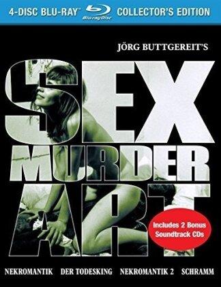 Sex Murder Art - The Films of Jörg Buttgereit (Collector's Edition, 4 Blu-rays + 2 CDs)