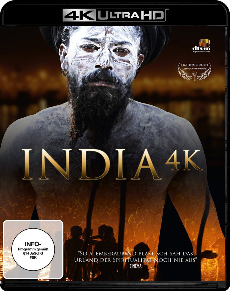 India (4K Ultra HD + Blu-ray 3D)