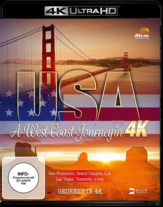USA - A West Coast Journey in 4K (2014)