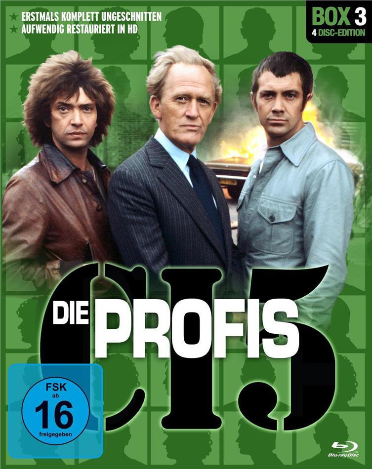 Die Profis - Box 3 (Restaurierte Fassung, Uncut, 4 Blu-rays)