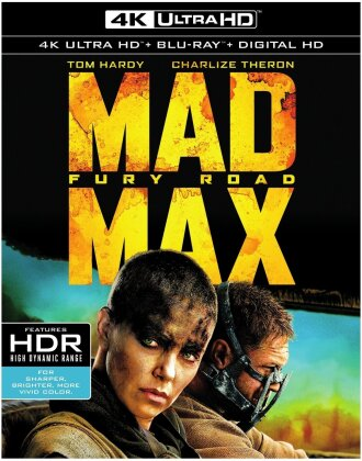 Mad Max - Fury Road (2015) (4K Ultra HD + Blu-ray)