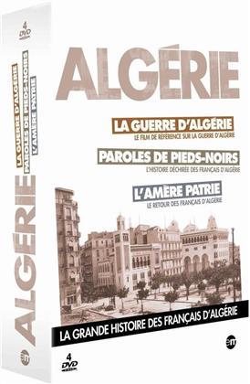 Algérie - la grande histoire des français d'Algérie (s/w, 4 DVDs)