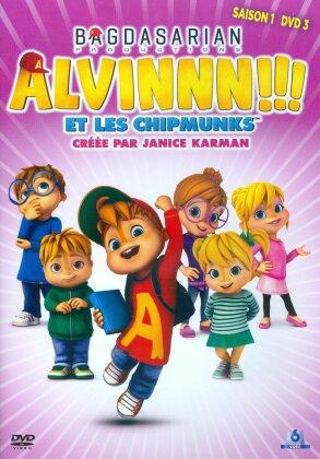 Alvinnn!!! et Les Chipmunks - Saison 1 - DVD 3