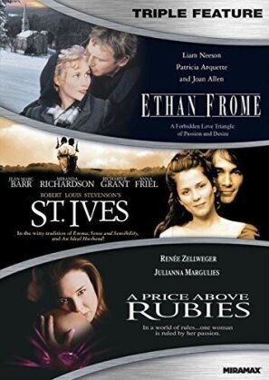 Ethan Frome / St. Ives / A Price above Rubies - Period Romance Triple Feature
