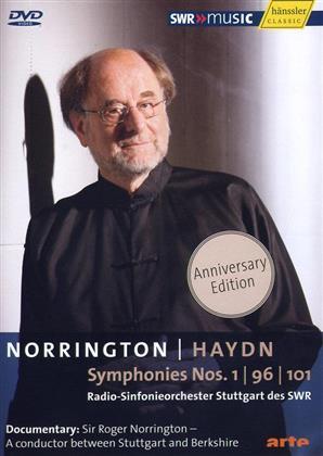 Radio-Sinfonieorchester Stuttgart & Roger Norrington - Haydn - Symphonies No. 1, 96 & 101 (Hänssler, Anniversary Edition)