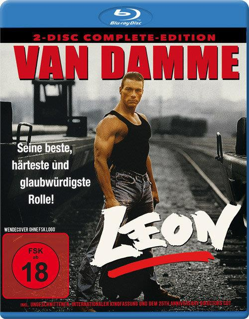 Leon (1990) (Complete Edition, 25th Anniversary Edition, Director's Cut, Kinoversion, Uncut, 2 Blu-rays)