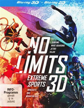 No Limits - Extreme Sports (3 Blu-ray 3D (+2D))