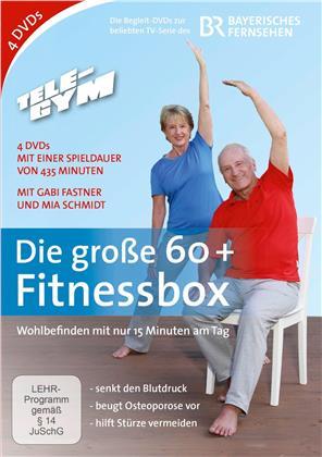 Die grosse 60+ Fitness-Box (4 DVDs)