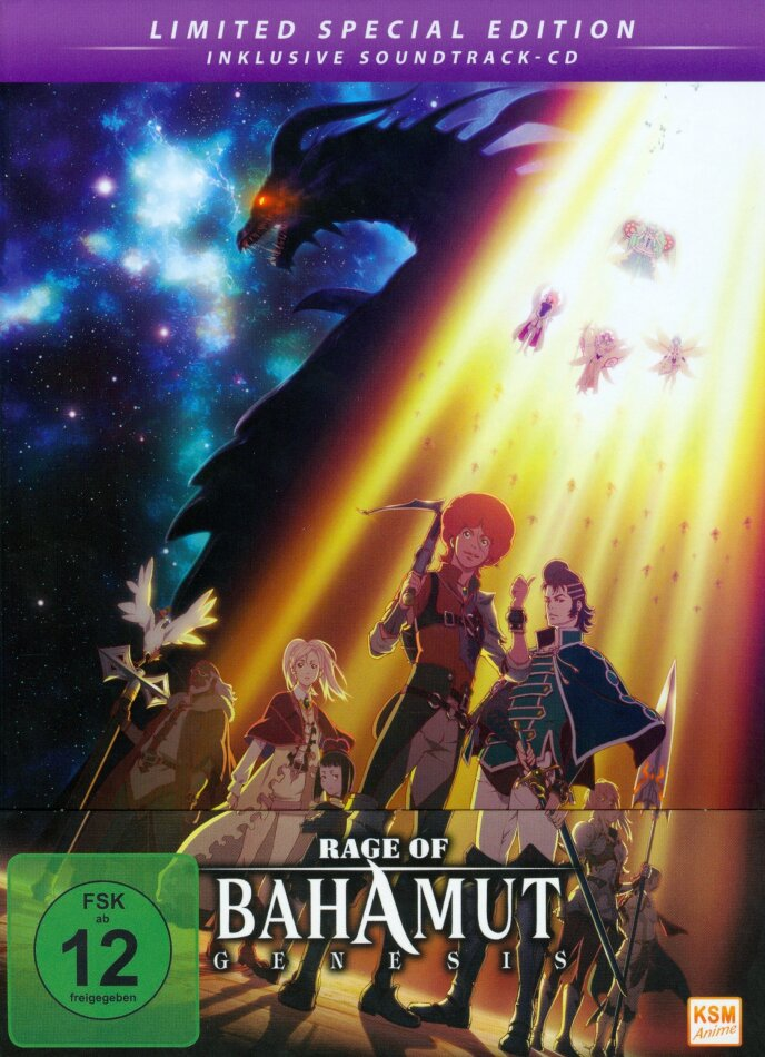 Rage Of Bahamut: Genesis (Digibook, Limited Special Edition, 2 Blu-rays + CD)