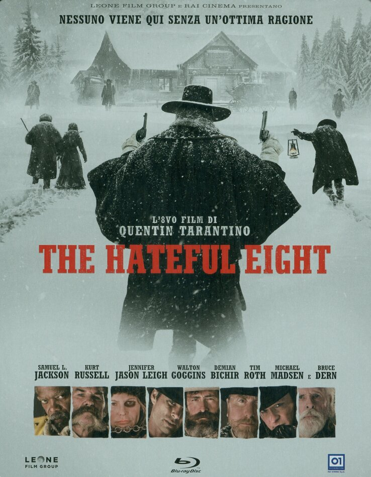 The Hateful Eight (2015) (Limited Edition, Steelbook)