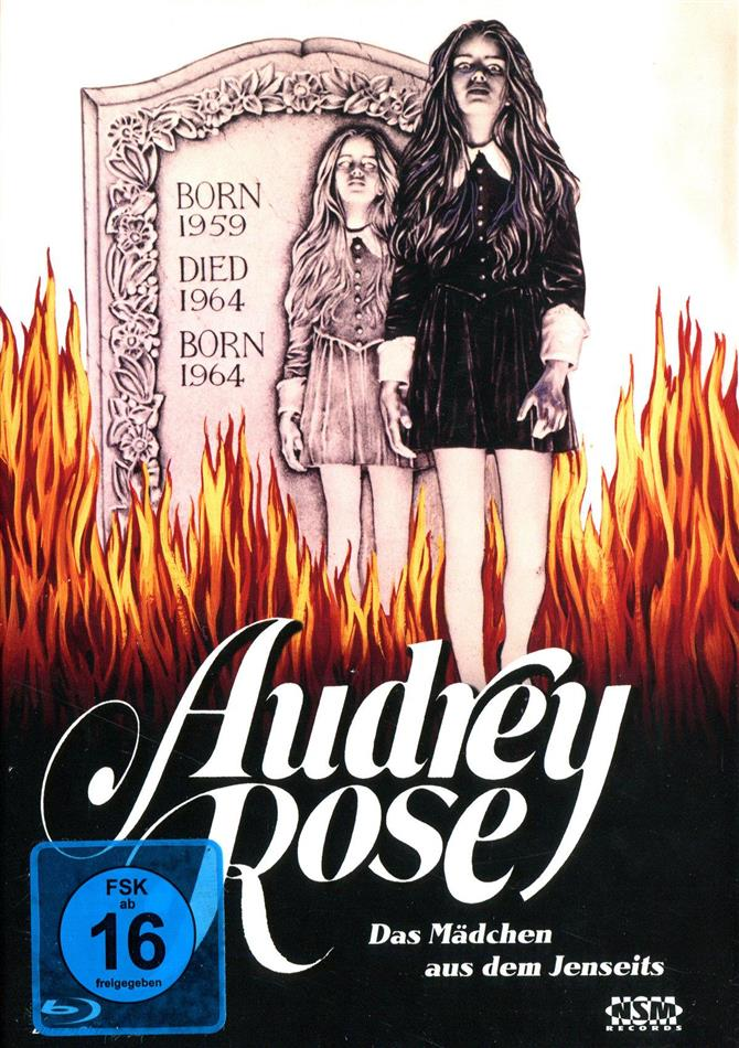 Audrey Rose (1977) (Cover C, Limited Edition, Uncut, Mediabook, Blu-ray + DVD)