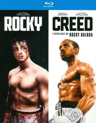 Rocky / Creed - L'héritage de Rocky Balboa (2 Blu-rays)