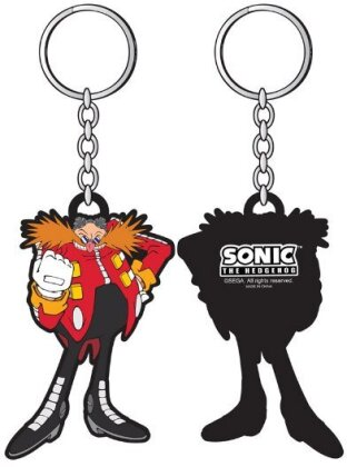 Porte-clef Rubber - Sega - Sonic - Dr. Robotnik