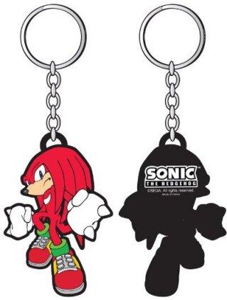 Porte-clef Rubber - Sega - Sonic - Knuckles