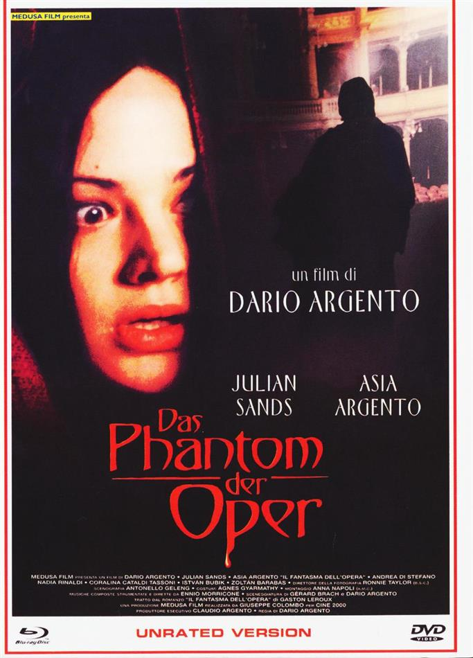 Das Phantom der Oper (1998) (Cover B, Eurocult Collection, Unrated, Limited Edition, Mediabook, Blu-ray + DVD)