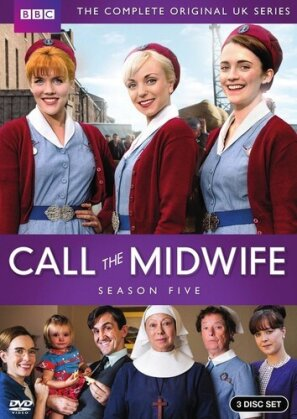 Call The Midwife - Season 5 (BBC, 3 DVDs)