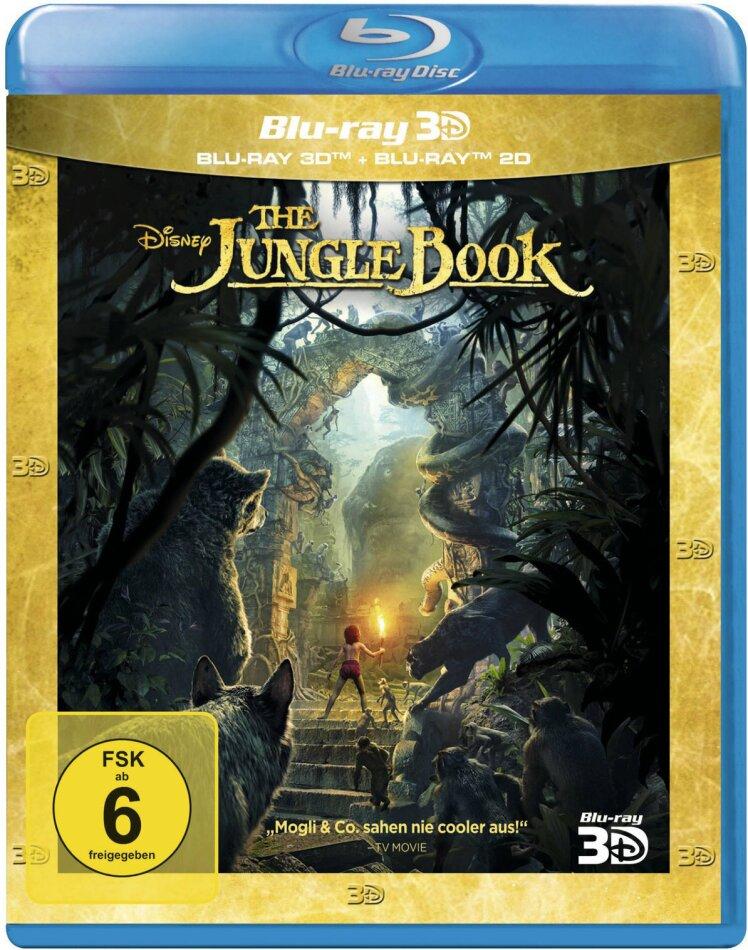 The Jungle Book (2016) (Blu-ray 3D + Blu-ray)