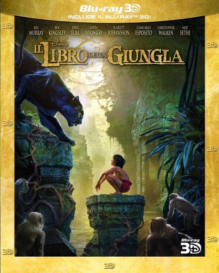 Il libro della giungla (2016) (Blu-ray 3D + Blu-ray)