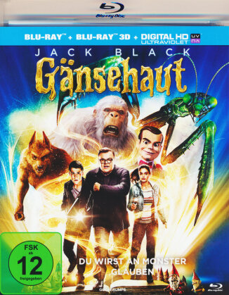 Gänsehaut (2015) (Blu-ray 3D + Blu-ray)