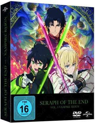 Seraph of the End - Staffel 1 - Vol. 1: Vampire Reign (Limited Edition, 2 DVDs)