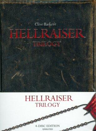 Hellraiser Trilogy (Mediabook, Unrated, 4 Blu-rays)