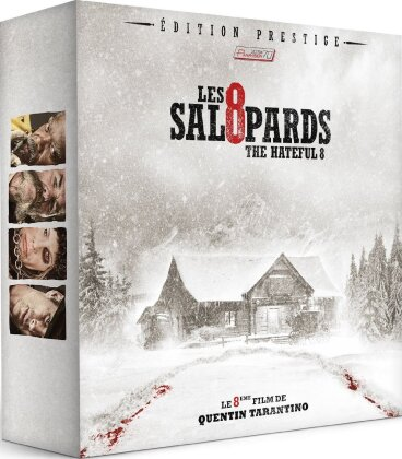 Les 8 Salopards (2015) (Édition Prestige, Limited Edition, Blu-ray + DVD + LP + Buch)