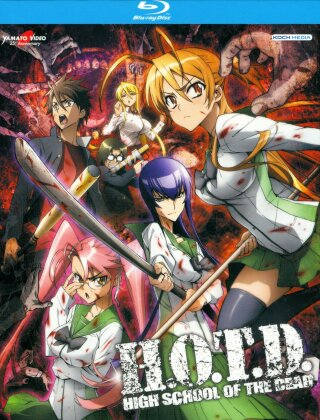 H.O.T.D. - High School of the Dead - Serie TV + OAV (2 Blu-ray)