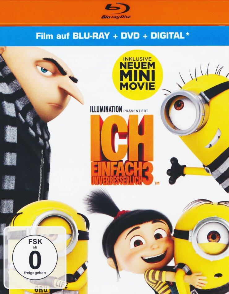 Ich - Einfach unverbesserlich 3 (2017) (Blu-ray + DVD)