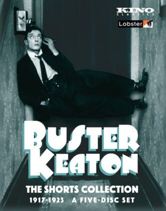 Buster Keaton - The Shorts Collection 1917-23 (Kino Classics, b/w, 5 DVDs)
