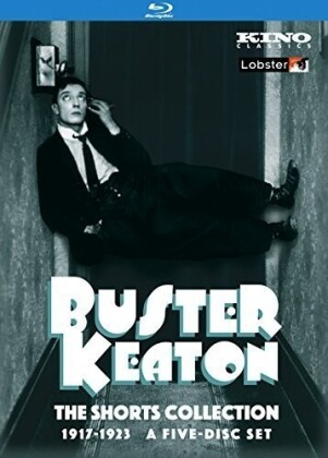 Buster Keaton - The Shorts Collection 1917-23 (Kino Classics, n/b, 5 Blu-ray)