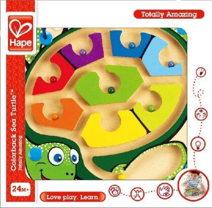 Hape: Colorback Sea Turtle Meeresschildkröte - Magnetlabyrinth