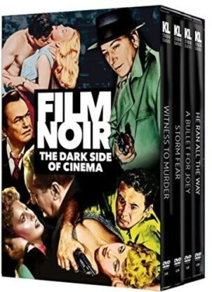 Film Noir - The Dark Side Of Cinema (n/b, Versione Rimasterizzata, 4 DVD)