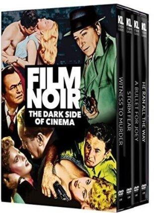 Film Noir - The Dark Side Of Cinema (n/b, Versione Rimasterizzata, 4 DVD)