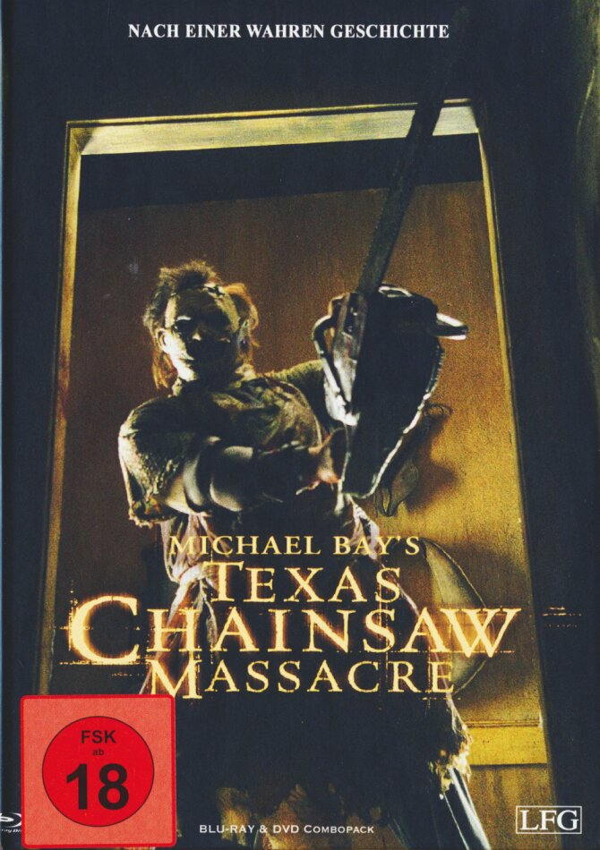 Texas Chainsaw Massacre (2003) (Cover A, Mediabook, Limited Edition, Blu-ray + DVD)