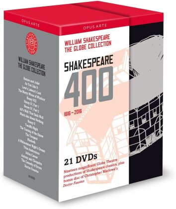 Shakespeare 400 (Opus Arte, Shakespeare's Globe, 21 DVDs) - Globe Theatre