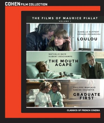 The Films of Maurice Pialat - Vol. 1 (Classics of French Cinema, Cohen Film Collection, 3 Blu-rays)