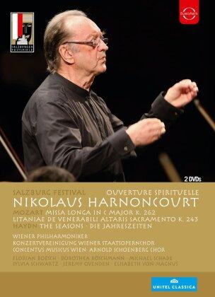 Wiener Philharmoniker, … - Overture Spirituelle (Euro Arts, Unitel Classica, Salzburger Festspiele, 2 DVDs)