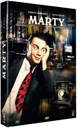 Marty (1955) (n/b, Blu-ray + DVD + Libro)