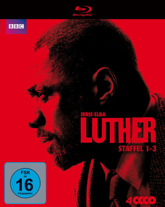Luther - Staffel 1-3 (4 Blu-rays)
