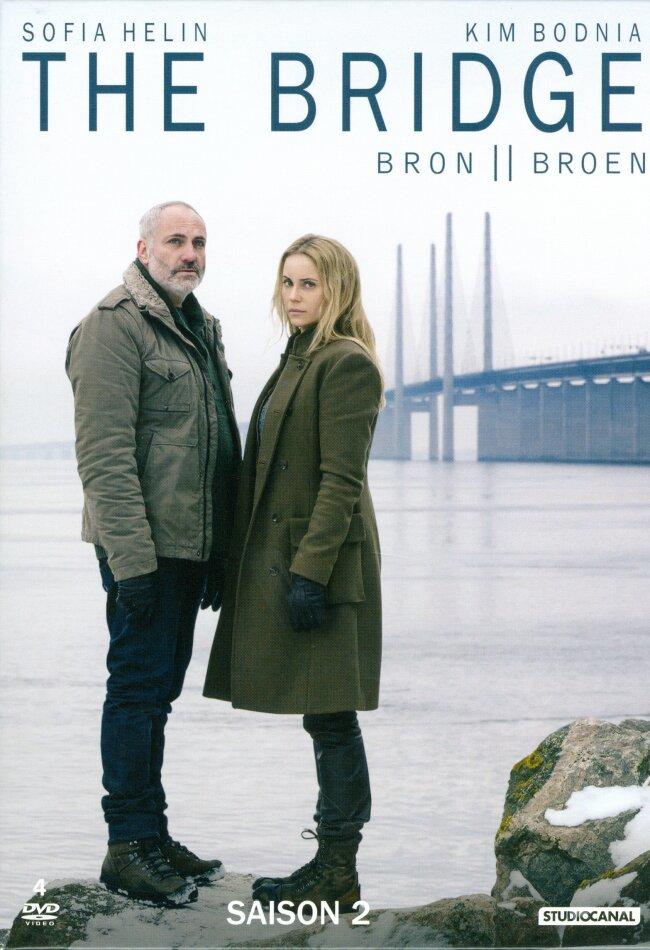 The Bridge - Bron / Broen - Saison 2 (BBC, 4 DVDs)