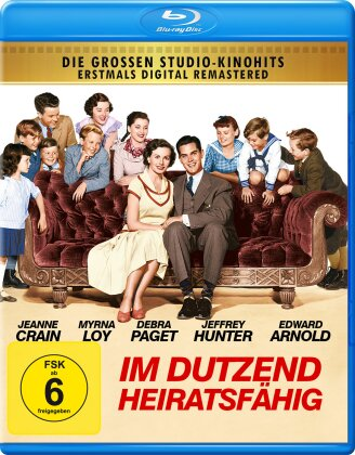 Im Dutzend heiratsfähig (1952) (Remastered)