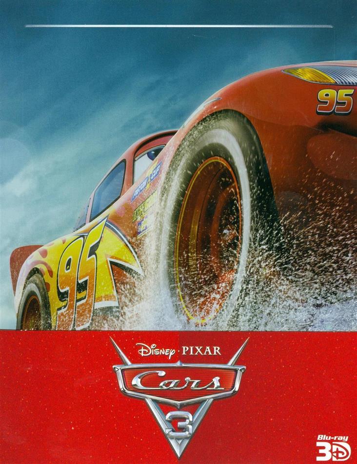 Cars 3 (2017) (Edizione Limitata, Steelbook, Blu-ray 3D + 2 Blu-ray)