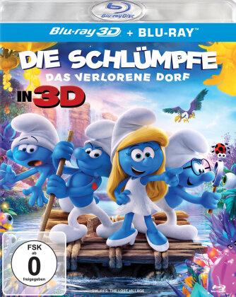 Die Schlümpfe - Das verlorene Dorf (2017) (Blu-ray 3D + Blu-ray)
