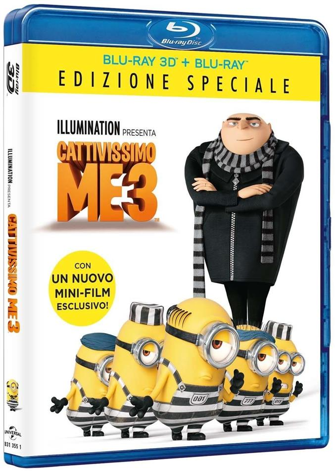 Cattivissimo Me 3 (2017) (Special Edition, Blu-ray 3D + Blu-ray)