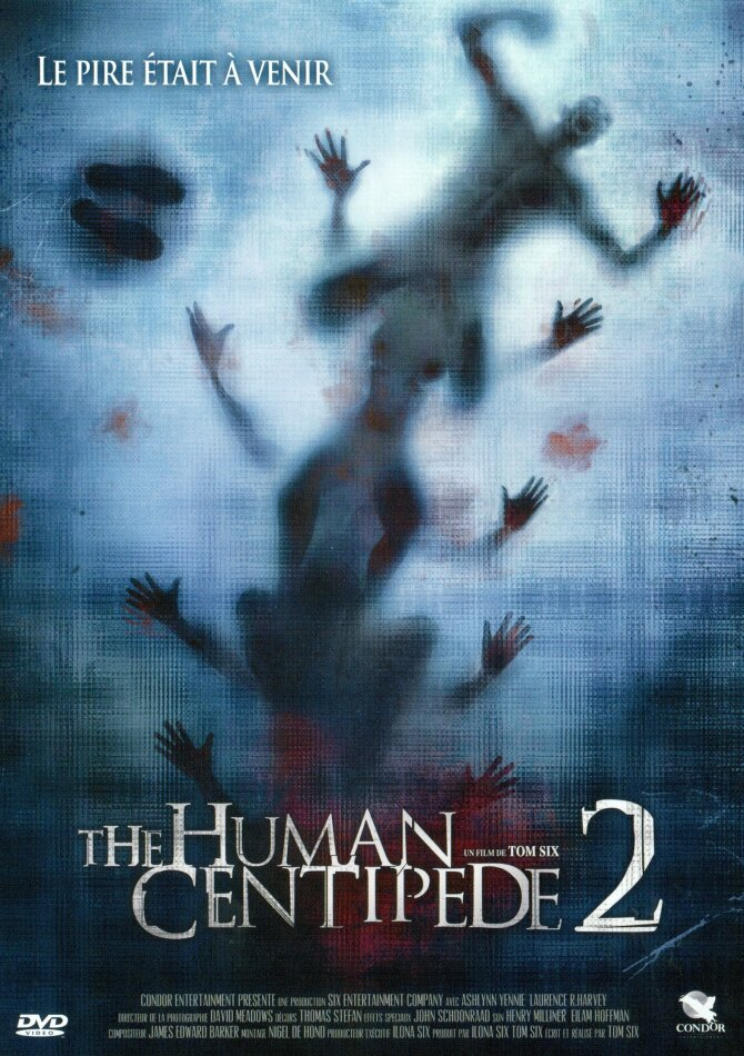 The Human Centipede 2 (2011) (s/w)