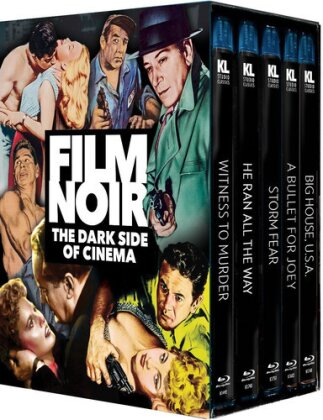 Film Noir - The Dark Side Of Cinema (n/b, Versione Rimasterizzata, 5 Blu-ray)