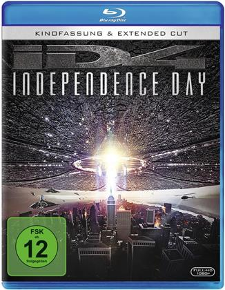 Independence Day (1996) (Extended Cut, 20th Anniversary Edition, Kinoversion, Remastered, 2 Blu-rays)