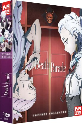 Death Parade - Intégrale de la série (Collector's Edition, 3 DVDs)