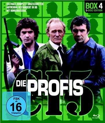 Die Profis - Box 4 (Restaurierte Fassung, Uncut, 5 Blu-rays)