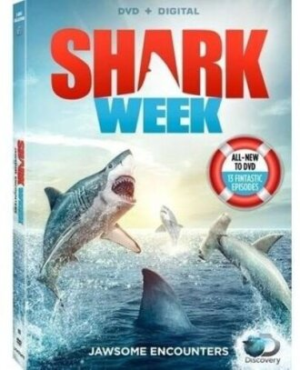 Shark Week Jawsome Encounters (Discovery Channel, 3 DVDs)